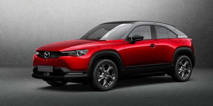 All-New Mazda MX-30 EV - Source: Mazda