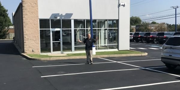 """""""What happened to all my vehicles?"""" asks Joe David Pacifico of Pacifico Marple Ford in Broomall,..."""