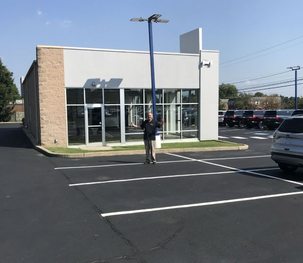 """""""What happened to all my vehicles?"""" asks Joe David Pacifico of Pacifico Marple Ford in Broomall, Pa. Pacifico's sales to fleet customers have been severely curtailed for the 2021 and 2022 model years. - Photo:Joe Lyons"""