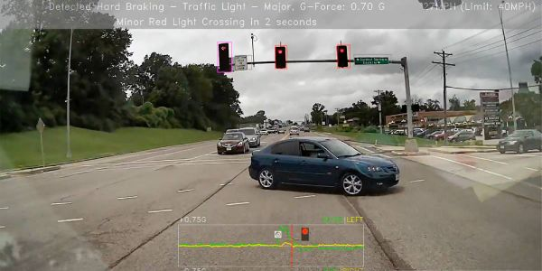 GPS Insight's Driveri system records video of various incident types, including hard braking....