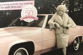 General Motors Celebrates 50 Years with Mary Kay