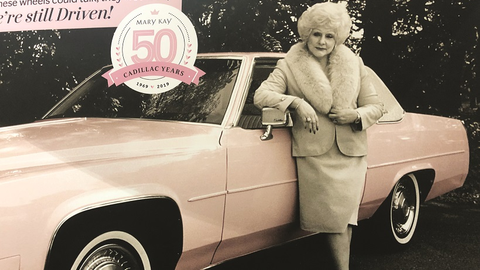 Mary Kay Ash, the founder of Mary Kay, ordered her first pink Cadillac Coupe DeVille from the...