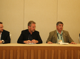 The remarketing professionals who spoke on various remarketing topics included (from...