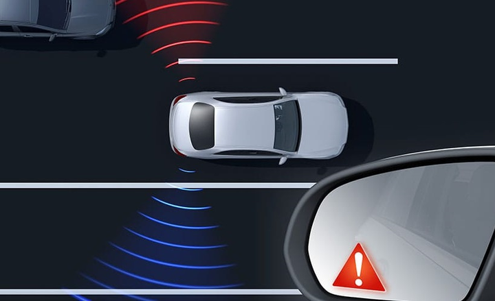 When traveling above approximately 20 mph, radar technology can help sense when a vehicle enters the blind-spot area. Blind Spot Assist can then alert the driver via an illuminated red icon in the appropriate side mirror. An audible warning sounds if the driver activates a turn signal while a vehicle is detected in the blind spot. After parking, new Exit Warning Assist can alert the driver or passengers to vehicles, cyclists or pedestrians that could be at risk if the door is opened. This technology is standard on the 2020 GLE, and is an optional addition to the 2019 A-Class.