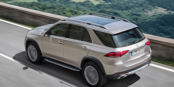 The automaker has said the new 2020 GLE is the most aerodynamic model in its class, with a drag...