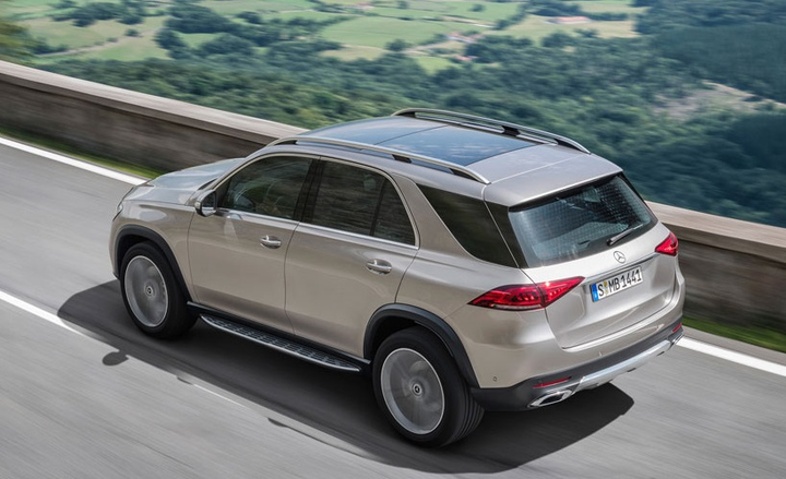 The automaker has said the new 2020 GLE is the most aerodynamic model in its class, with a drag coefficient of 0.29, which is lower than the previous generation. 