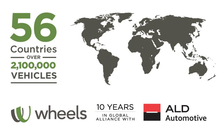 The success of the Wheels | ALD Global Alliance is, at least in part, attributed to the core tenets underlying every conversation, negotiation and business activity taking place: coverage, culture and control.  - Graphic courtesy of Wheels Inc.