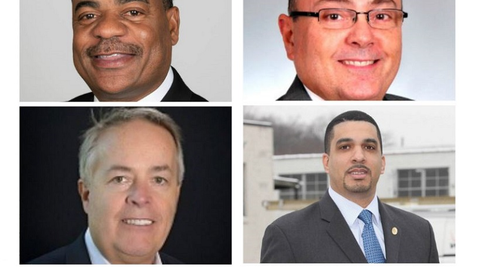 Clockwise from top left: Carlton Rose, UPS, President, Global Fleet Maintenance...