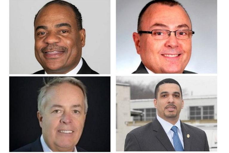 Clockwise from top left:Carlton Rose, UPS, President, Global Fleet Maintenance...