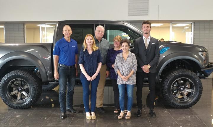 Hawk Fleet Group's team includes (L–R) Mike Ryan, Lynn Cass, Russ Cass, Doris McCormick, Penny Lazzara, and Ryan O'Reilly.  - Photo courtesy of Hawk Fleet Group.