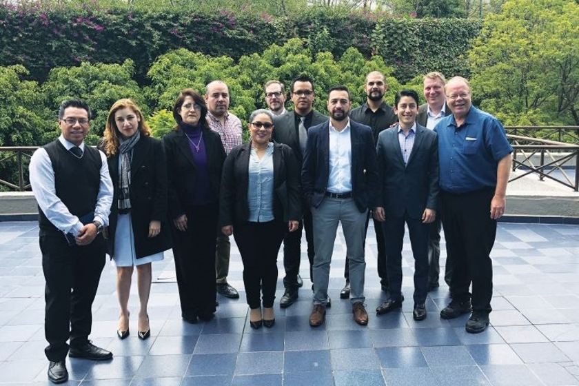 Members of the Mexico Fleet Managers Group met with AFLA Executive Director Bill Elliott (second...