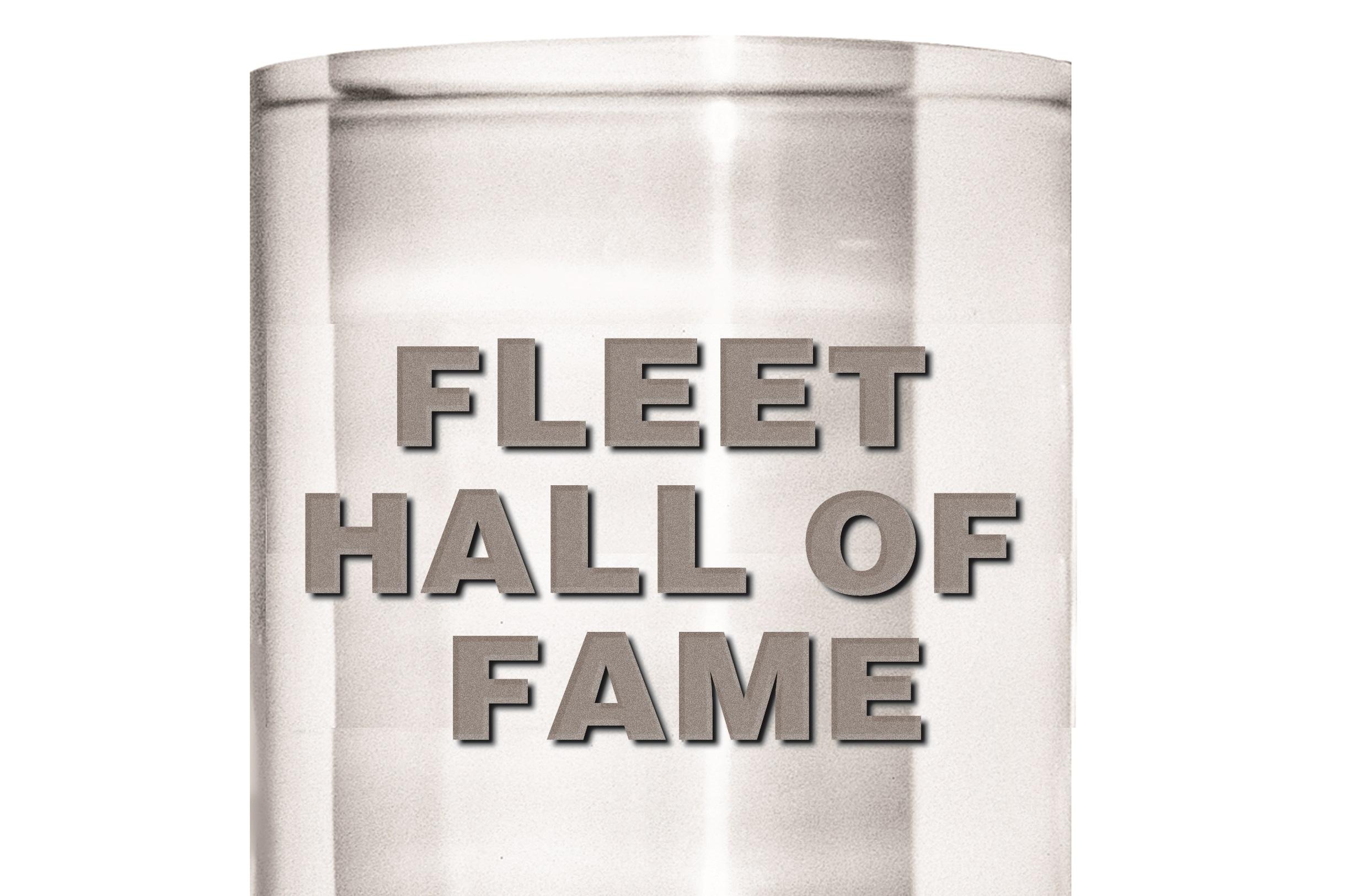 2019 Fleet Hall of Fame Inductees