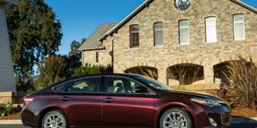 2013 Avalon Reimagines Luxury Vehicle