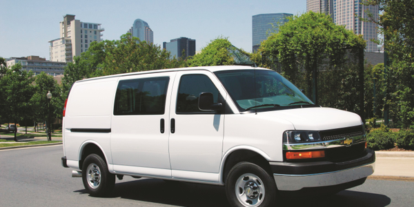 With the completion of the current orders for the 2015 Chevrolet Express (pictured) and GMC...