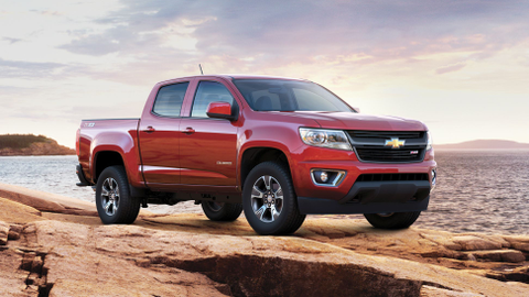 While the Chevrolet Colorado has sportier exterior styling, its Work Truck trim level is...