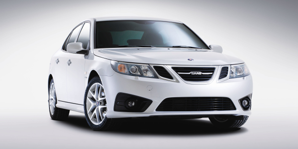 "The MY-2012 Saab 9-3 Griffin range has new front bumpers, ""ice block"" headlamps, and a Griffin..."