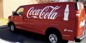 Coca-Cola's Hybrid Delivery Vans Bring Fuel Savings