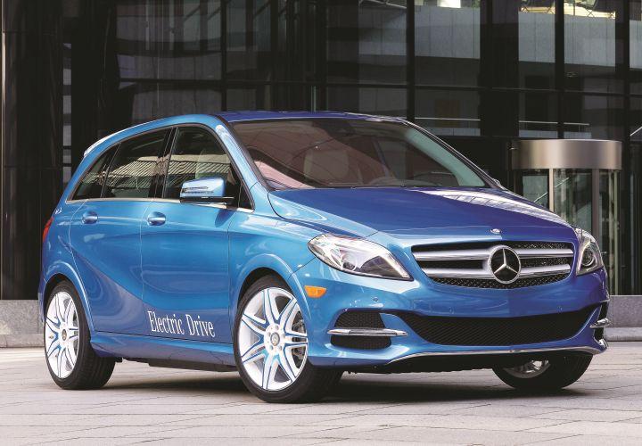 Mercedes-Benz Showcase: 2014 B-Class Electric Drive
