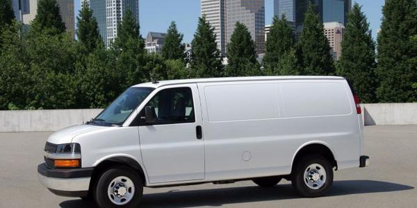 Photo of 2013 Chevrolet Express van courtesy of GM.