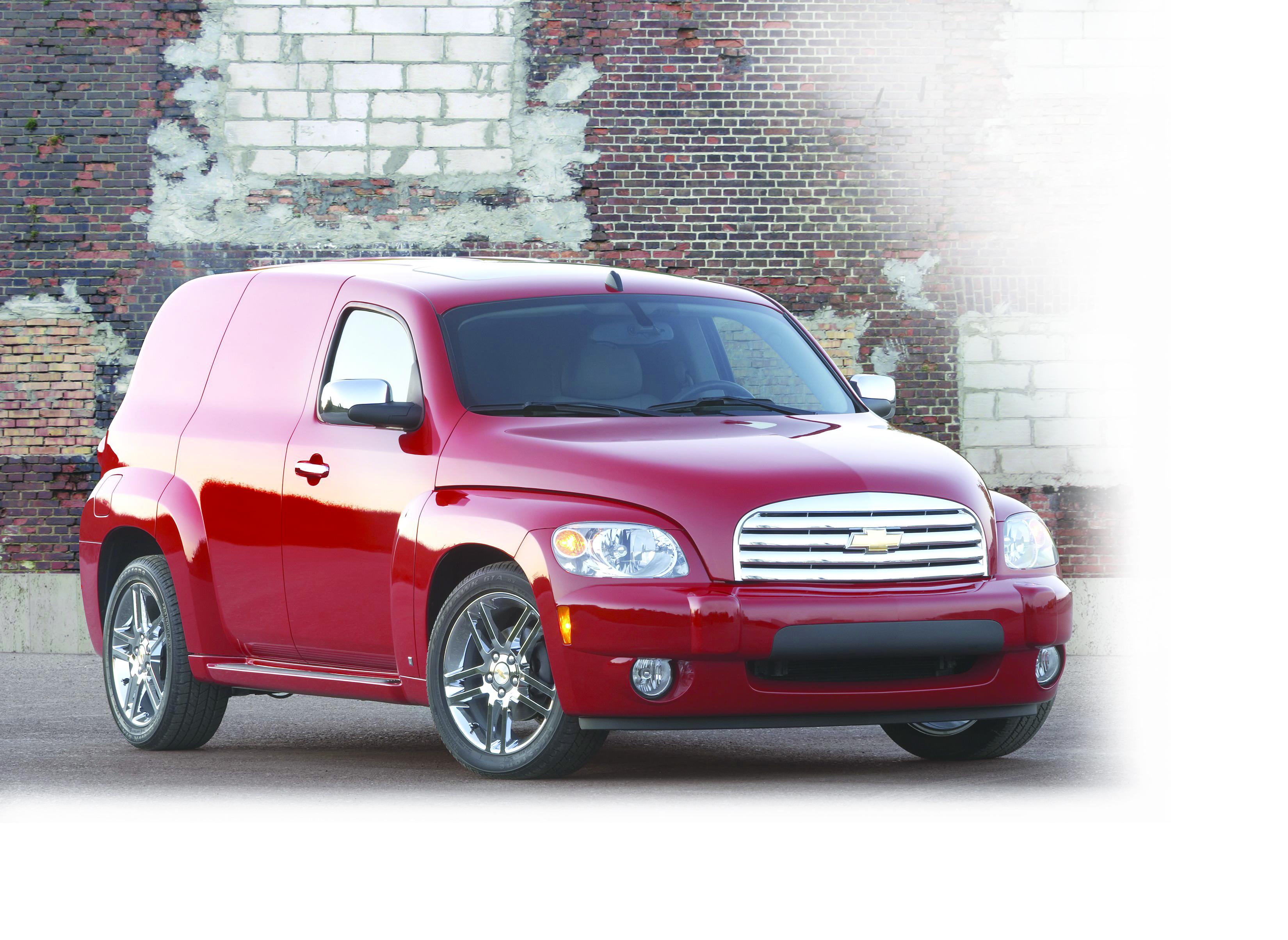 Chevrolet's New HHR Panel Van Built for Business