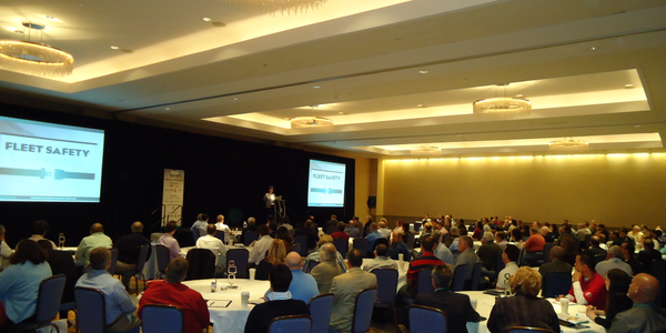 Attendees listened attentively to the keynote address from Monsanto's Maggie Cole, who discussed...