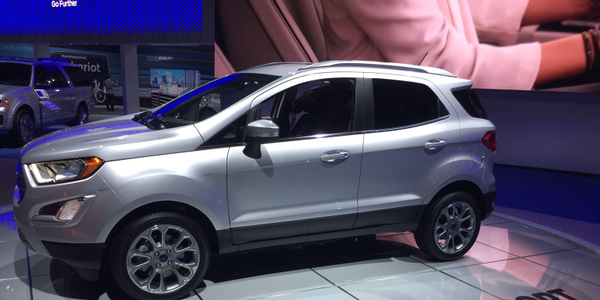 Photo of 2019 Ford EcoSport by Paul Clinton.