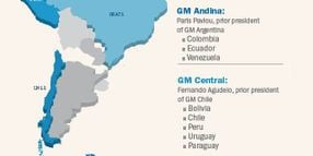 Chevrolet Benefits from Reorg of GM South American Operation