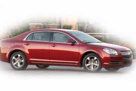 Chevrolet Malibu Voted 2009 MY Car of the Year