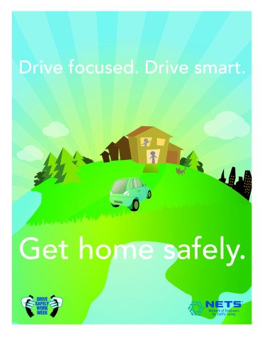 NETS Stages Drive Safely Work Week Campaign