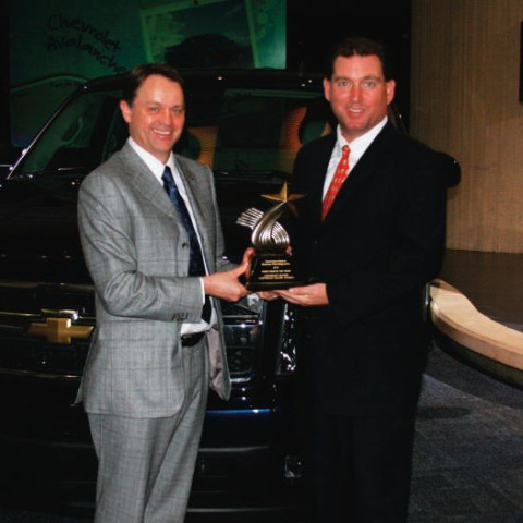 2010 Chevrolet Silverado Repeats Fleet Truck of the Year Award