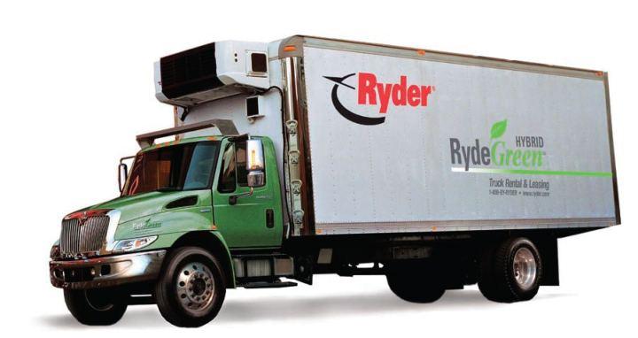 'RydeGreen' Hybrid Trucks Maximize Fuel & Minimize Costs
