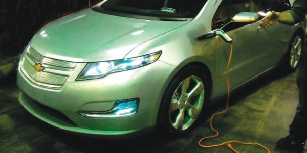 All-electric Chevrolet Volt
