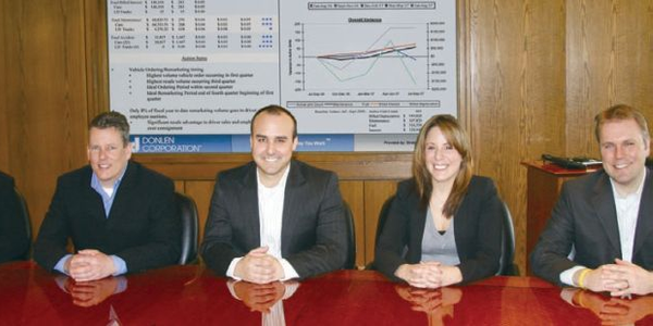 Donlen's strategic consulting team includes (l-r) Dan Hannan, senior VP, strategic consulting &...