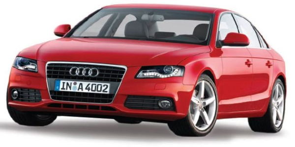 Guided by professional driving experts, fleet industry professionals track-tested the 2009 Audi...