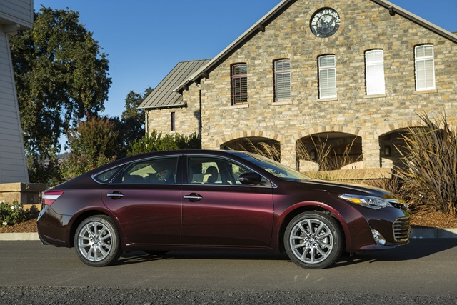 The 2013-MY Toyota Avalon will be built in Kentucky.