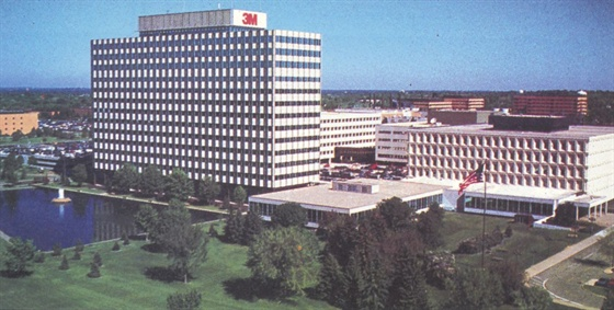 3M's worldwide headquarters is situated on 435 acres in St. Paul, MN.
