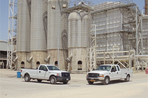 """Because of the historically high resale rate for pickups, Valero began a """"cascading"""" program, buying new Ford F-150 models, and cycling older vehicles into more strenuous duty such as work at refineries and tank farms."""