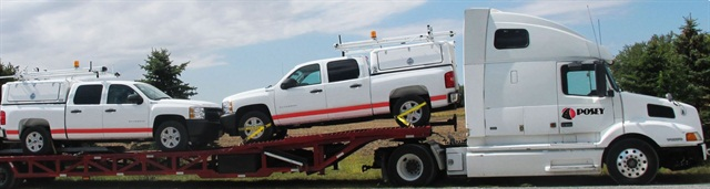 Carrier services are less expensive than driveaway services, but can take longer to deliver a vehicle.