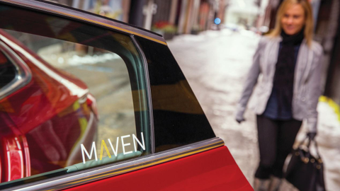 Maven is a car-sharing program offered by General Motors in partnership with a number of...