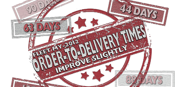 Fleet MY-2012 Order-to-Delivery Times Improve Slightly