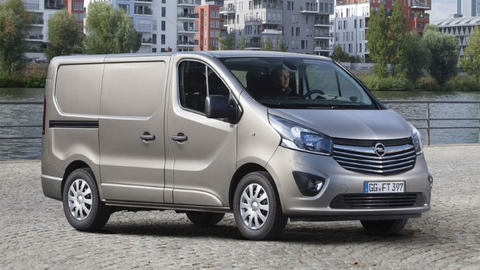 Photo of the Opel Vivaro courtesy of Opel.