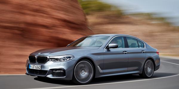 BMW 5 Series sedan M Sport,photos courtesy of BMW