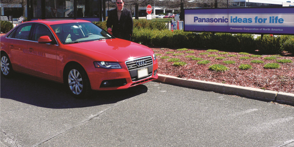 Frank Memolo, fleet manager and 25-year employee of Panasonic Corporation of North America,...