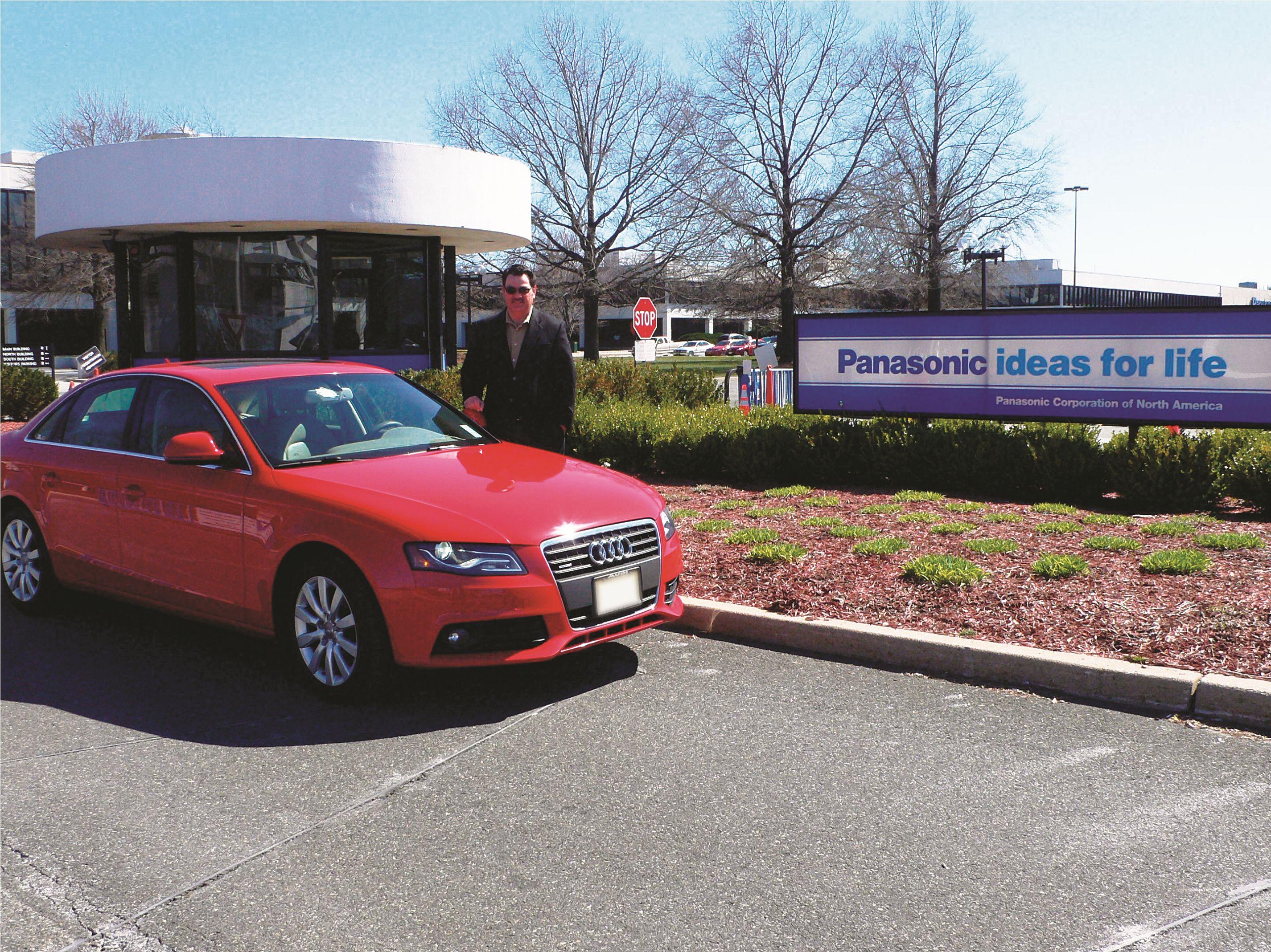 Panasonic Switch to Audi Sales Fleet Pays Off