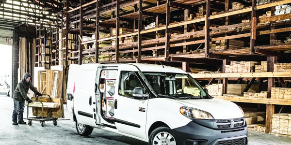 The Ram ProMaster City cargo models offer a load compartment with a cargo volume of 131.7 cubic...