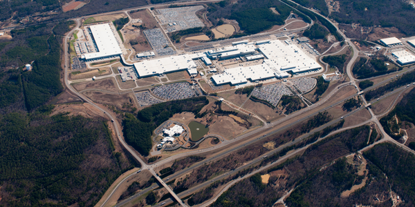 Photo of the Tuscaloosa, Ala., plant courtesy of MBUSA.