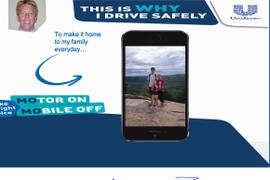 Unilever Drivers Turn Motors On, Mobile Phones Off