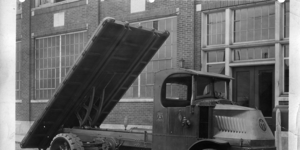 Prior to the development of hydraulics in the 1930s, upfitted trucks, such as the one above,...