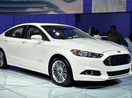 Ford Fusion Hybrids account for 78% of ADP's North American sales fleet. These vehicles achieve...