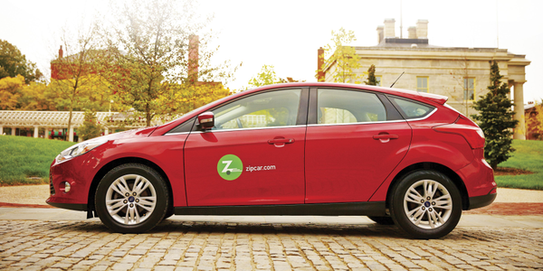 Zipcar is among the many car sharing service providers organizations can use to manage fleets in...